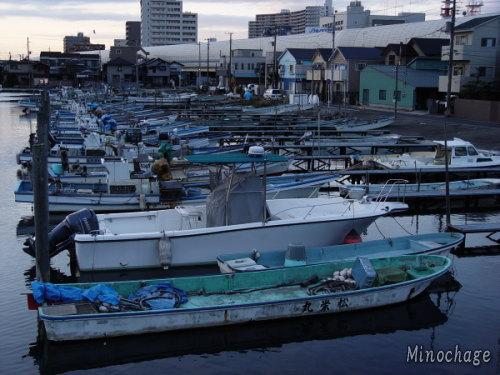 船橋の港ー今昔