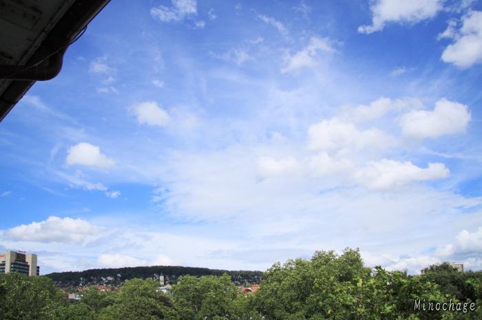 チューリッヒの青空