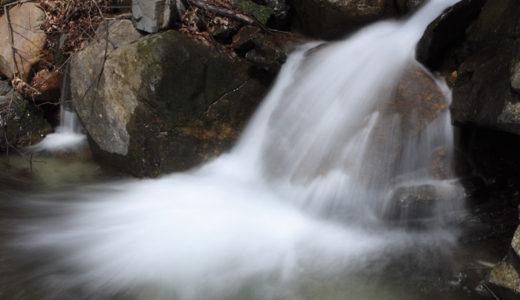 滝の流れ(EOS7s+Velvia 100)