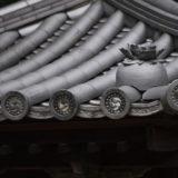 八栗寺の面白い瓦