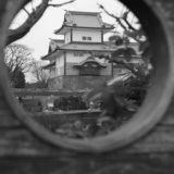金沢城公園にて(Leica M3)