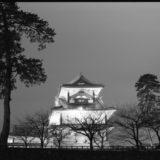 金沢城公園にて
