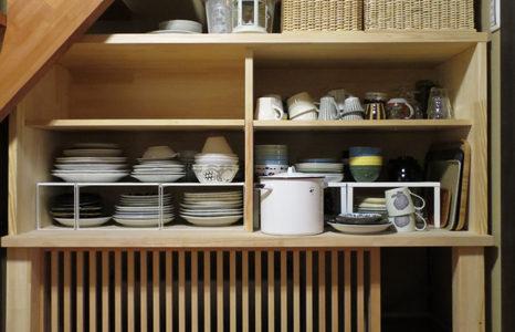 食器棚製作、一段落