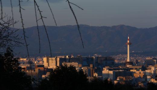 夜明けの京都