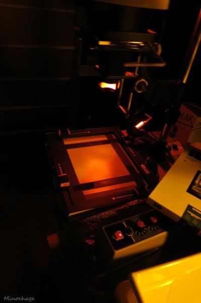 Hasselblad 503CX + 自家現像 + 引伸し