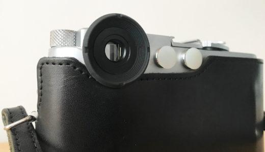 Leica Mシリーズ用のラバーアイカップ