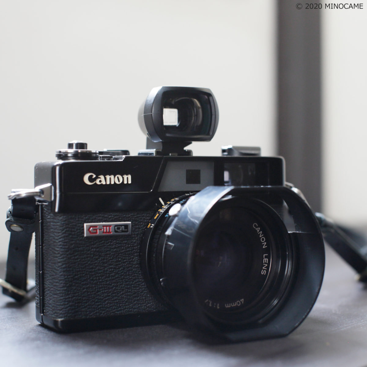 Canonet QL17 G-III with Hood5