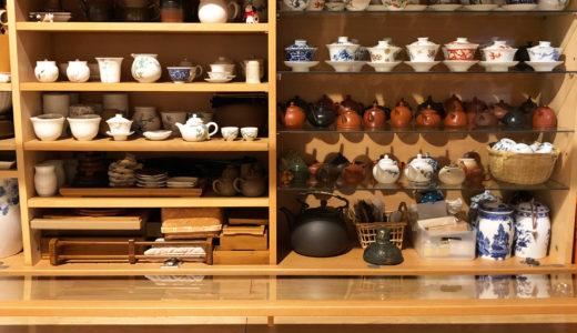 台湾茶器・茶葉の収納用: IKEAのキャビネット大改造完結