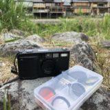 携帯に便利なRicoh GR1V用フィルターセット